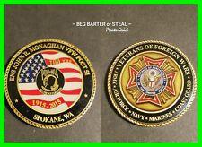 """POW / MIA """"You Are Not Forgotten"""" Coin ~ VFW ~ 100 Yrs Token 1915 - 2015"""