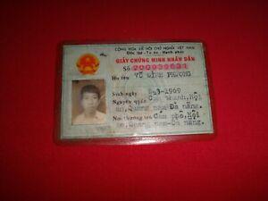 Socialist Republic Of Vietnam MALE ID Card - Issued Year 1985 Vintage