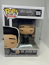 New ListingIn Stock Funko Pop 186 Elvis Presley Jailhouse Rock November New W Protector
