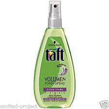 Schwarzkopf Taft Volume Blow Drying Spray - Extra Strong - 150 ml / 5.07 fl oz
