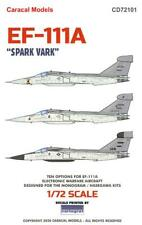 "Caracal Decals 1/72 GENERAL DYNAMICS GRUMMAN EF-111A AARDVARK ""SPARK VARK"""