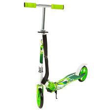 Scooter Roller Tretroller Cityroller Kinderroller klappbar 205 mm Wheel grün NEU