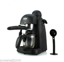 New Black High-Quality Automatic Coffee Maker Luxury Steam Coffee Machine Pot