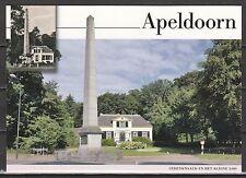 Voorgefrankeerde ansichtkaart Apeldoorn Gedenknaald en Het Kleine Loo - Postcard