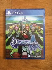 ONE WAY HEROICS MYSTERY CHRONICLES PS4 LIMITED RUN NEUF VERSION US 5000EX