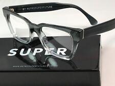RetroSuperFuture America Faded Grey Crystal Frame Glasses SUPER 823 NIB