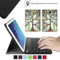 For Samsung Galaxy Tab E 8.0 T377 Slim Stand Case Cover w/ Bluetooth Keyboard