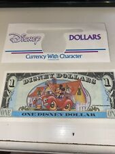 1993 $1 Disney Dollar - Mint Condition - Mickey's 65th - Series A
