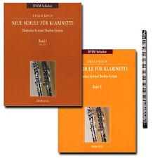 Neue Schule für Klarinette von Ewald Koch mit CD und Piano-Bleistift