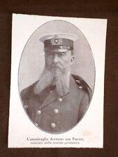 Ammiraglio Alfred Peter Friedrich von Tirpitz Küstrin