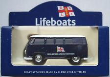 """Lledo-VW Bus t1 Camper azul oscuro """"r.n.l.i. lifeboats"""" nuevo/en el embalaje original"""