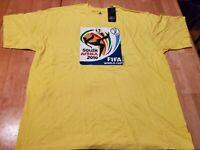 FIFA World Cup South Africa 2010 T Shirt Men's 2XL Adidas NWT Official Logo