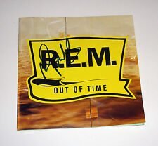 REM Bass Player Mike Mills Signed Out of Time CD COA Free Shipping proof