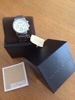 montre femme Michael Kors MK5020 Ritz acier cristaux quartz chrono étanche Boîte