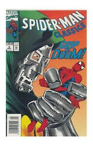 Spider-Man Classics #6 (Sep 1993, Marvel) VF/NM Dr.Doom