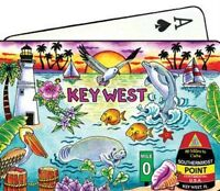 KEY WEST FLORIDA SUNSET SCENE COLLECTIBLE SOUVENIR PLAYING CARDS