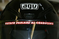 "Rossi ""THE DOCTOR"" Visor Decal - 1998 Gp 250"