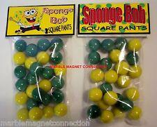 2 BAGS OF SpongeBob SquarePants CARTOON ADVERTISING PROMO MARBLES