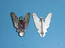 50012 WWII German Romanian Pilot's Badge R18D