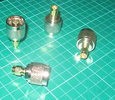 N-TYPE MALE PLUG TO SMA MALE PLUG ADAPTOR