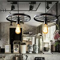 2 Pcs Black Chandelier Kitchen Ceiling Lights LED Pendant Lighting Modern Lamp