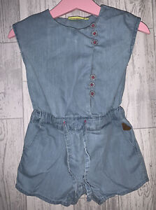 Girls Age 9-12 months - Denim Play Suit
