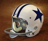 Dallas Cowboys style NFL Vintage Football Helmet - DON MEREDITH 1960-1963