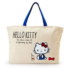 Hello Kitty Sanrio Bag Tote bag Big Sagara embroidery Milk Japan New Free Ship