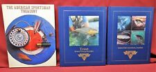 Three Book Lot: Catch Fish Anywhere, Anytime; Trout; American Sportsman Treasury