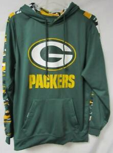 Green Bay Packers Men's Size S to 2XL Camo Accent Hoodie Sweatshirt A1 3226