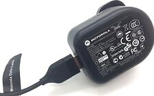 Genuine Motorola Mains Travel Wall Fast Charging UK Charger Moto G, G2, G3