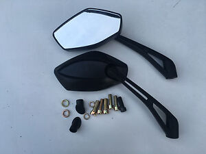 BRAND NEW A GRADE E MARKED PAIR OF  MIRRORS FOR LEXMOTO DIABLO 125 ALL MODELS