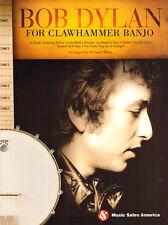 Bob Dylan for Banjo 14 Songs im Clawhammer Stil Songbook Tab Tabulatur