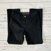 Soft Surroundings Classic Jeans Womens Black Size 6P Petite Stretch