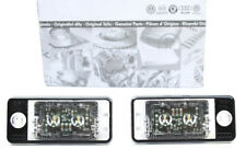 Tuning 2x Original Audi RS6 S6 4F A3 S3 RS3 LED Kennzeichen Leuchte Q7 S4 S-Line