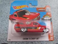 HOT WHEELS 2016 #148/250 Custom 1972 Chevy LUV Rojo HW Caliente vagones Funda F