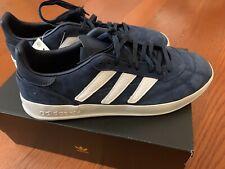 adidas Men SOBAKOV P94 Shoes Collegiate Navy White Size 11
