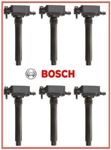 6 Ignition Coils BOSCH 0221504048 For Chrysler Dodge Jeep RAM VW 3.6L V6