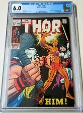 Thor #165 CGC 6.0 1st APP HIM Warlock Guardians  of the galaxy MCU 1969 KEY 🔥🔥