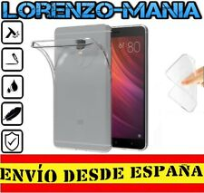 Funda Silicona Carcasa posterior XIAOMI REDMI NOTE 4 GLOBAL Transparente 1mm