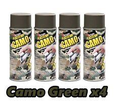 Performix Plasti Dip Camo Green 4 Pack Rubber Coating Spray 11oz Aerosol Cans