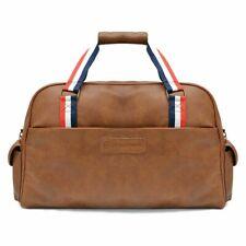 Lambretta Weekend Tan Holdall Shoulder Laptop Work Tablet Bag