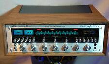 Schöner Marantz 4240 Stereo 2 + Quadradial 4 Hifi  Receiver im neuen Woodcase