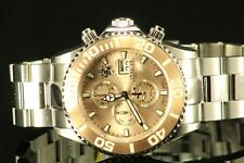 Invicta 18003 Sea Base SWISS MADE Rose Gold Tone Dial Watch