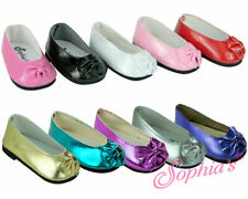 Patent Bow Shoe - 18 Inch Doll Shoes - Fits American Girl Dolls