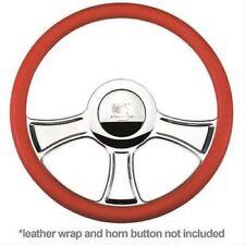 "Billet Specialties 30765 Steering Wheel Half-Wrap Chicayne Aluminum 3-Spoke 14"""
