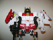 Transformers G1 SUPERION Micro Mini Micromaster Jr. Combiner WST set