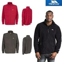 Trespass Mens Bernal Heavyweight Full Zip Fleece Jumper Warm Casual Zipper