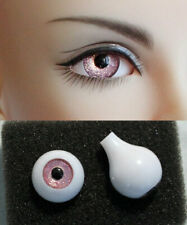 10 Pairs//Set 12mm Doll Eyeballs Half Round Acrylic Eyes for DIY Doll Bearv HK