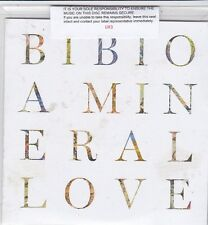 BIBIO A MINERAL LOVE RARE NUMBERED 13 TRACK PROMO CD